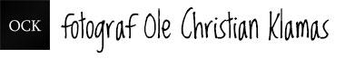 fotograf Ole Christian Klamas Logo